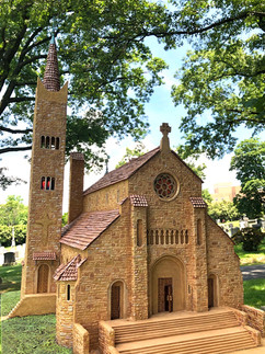 This is the miniature model of the church.