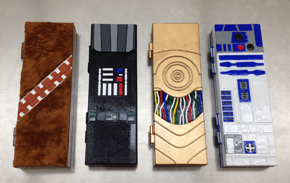 Star Wars pencil cases
