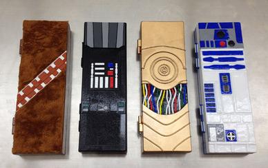 Star Wars pencil cases
