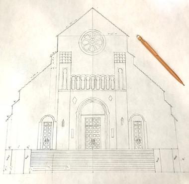 Sketching the facade
