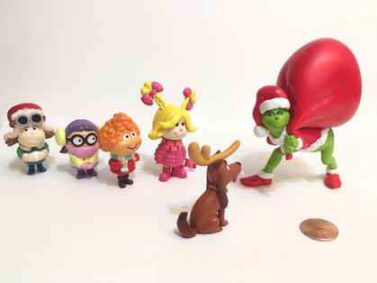 Grinch movie figurines