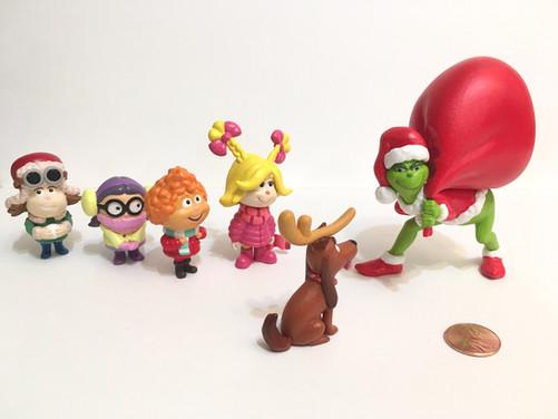 Grinch character figures