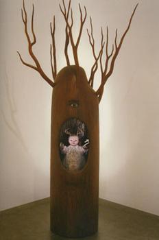 Mark Ryden Sculpture in Gallery