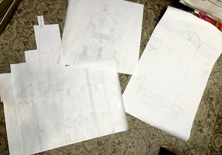 Many drawings, lots of measuring and math...