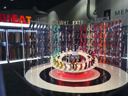 Trade Show Sock Display