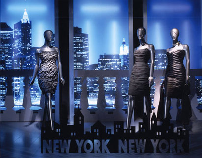 New York, New York Window