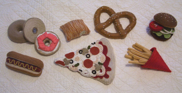 Grouping of Yarn Foods