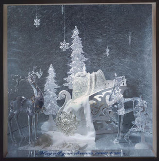 Crystal & Ice Window -
