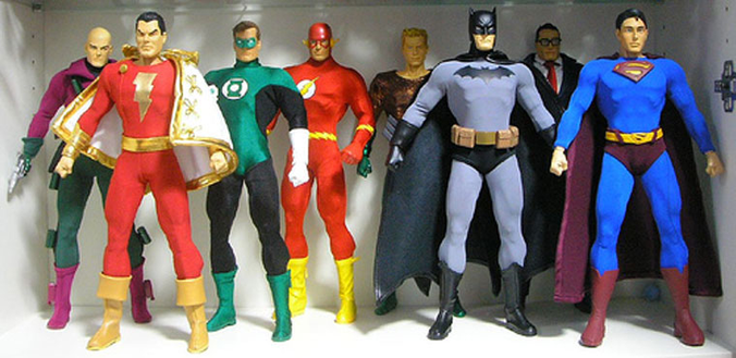Costume Prototyping for DC Comics