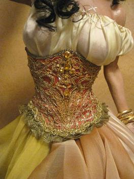 Oshun Costume Detail
