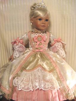 Marie Antoinette Doll Costume