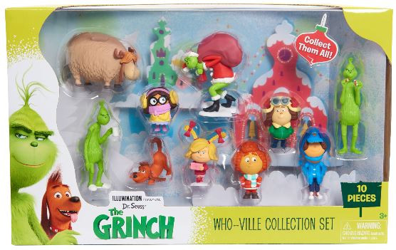 Grinch Character Set