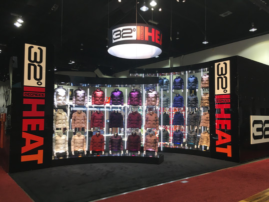 Trade Show Booth front