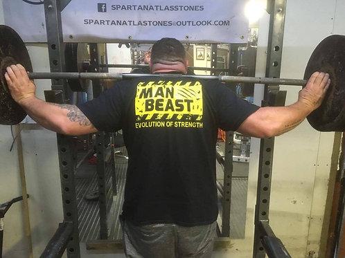 Evolution of Strength - MAN BEAST T-shirt