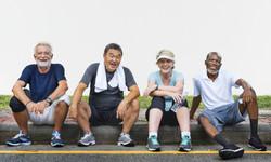 bigstock-Senior-Group-Friends-Exercise--