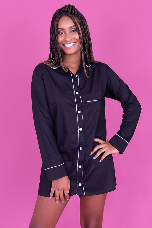 camisola basic preta