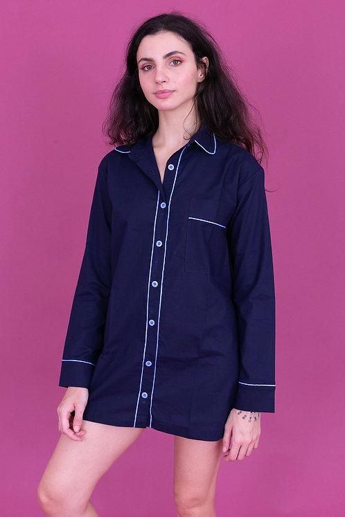 camisola color marinho