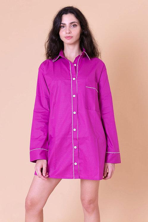 camisola color fúcsia
