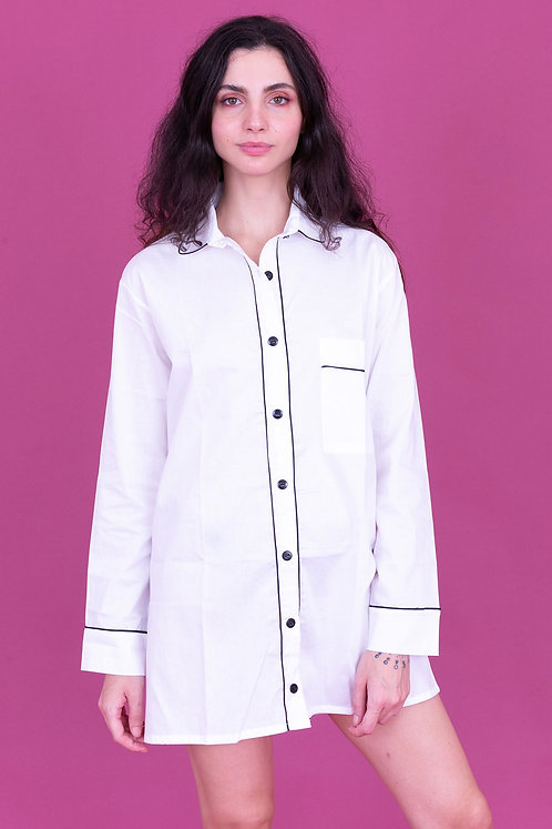 camisola basic branca