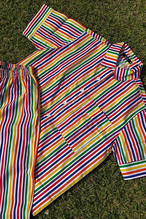 pijama print special stripes