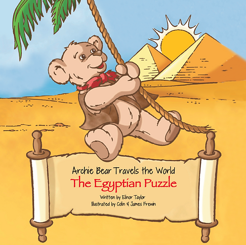 Archie Bear Travels The World - The Egyptian Puzzle