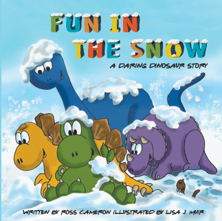 Fun In The Snow - A Daring Dinosaur story
