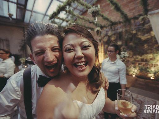 Casamento Analógico - Keka e Rick