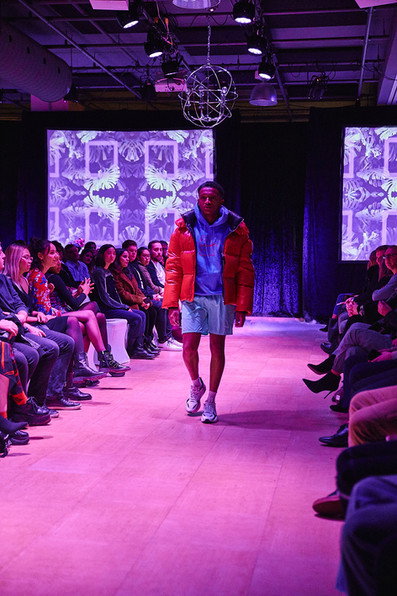 COAT - MACKAGE  HOODIE - BOREDOM  SHORTS - LNF  SHOES - MODEL OWNED HAIR - COLLÈGE INTER-DEC MODEL - MATHIS TOURÉ PHOTOGRAPHER - CAROL RIBEIRO
