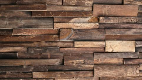 【壁材の質感】味わい深い色や、豊かな凹凸のある壁がとても魅力的です。