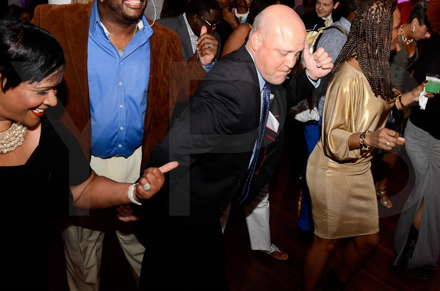 Mayor Mitch Landrieu jams with me!