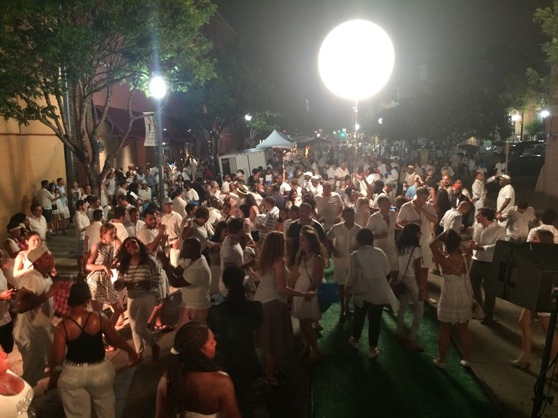 White Linen Night 2016, New Orleans
