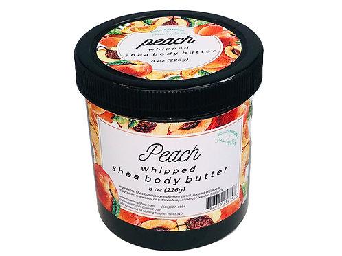 Peach Whipped Shea Body Butter 8 oz
