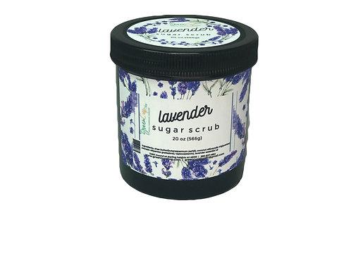 Lavender Sugar Scrub 20 oz