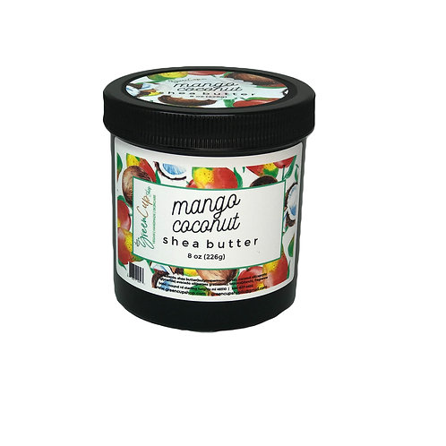Mango Coconut Shea Butter 16 oz