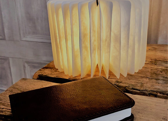 Leather Book Light