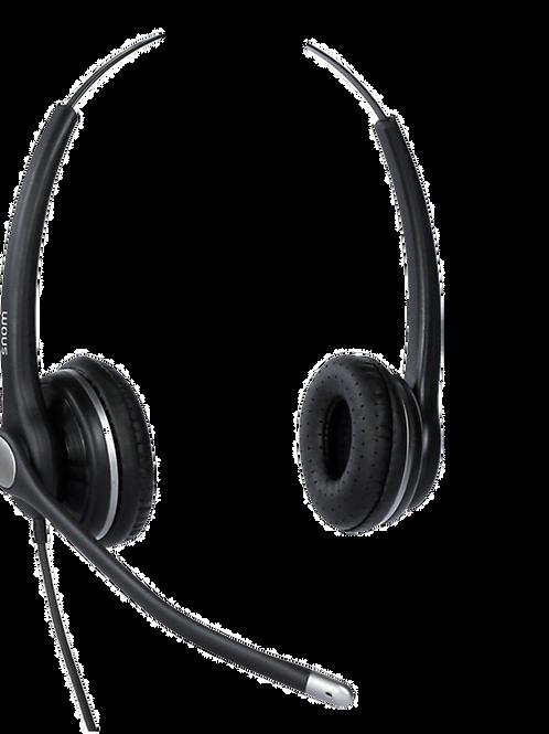 Snom A100D Wideband Binaural Headset