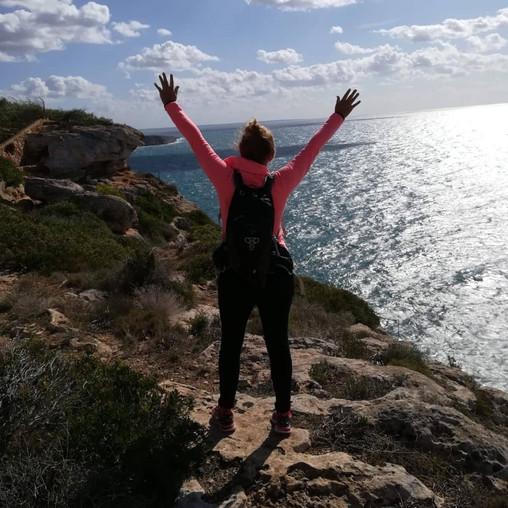 Cap Blanc mit Mallorca Muntanya