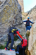 Durch die Felsenschlucht des berühmten Torrent de Pareis bis Sa Calobra. Abenteuer!