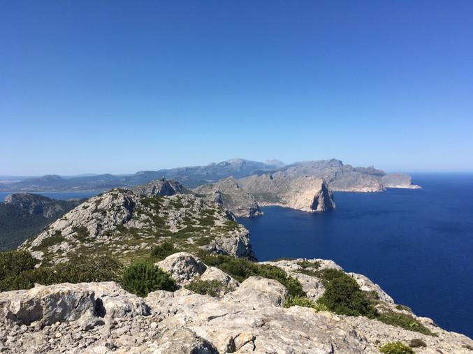 Cap Formentor mit Mallorca Muntanya