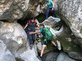 Abenteuer durch die Felsenschlucht des berühmten Canyon Torrent de Pareis bis ins Paradies Sa Calobra