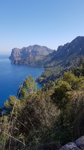 Westkueste mit Mallorca Muntanya