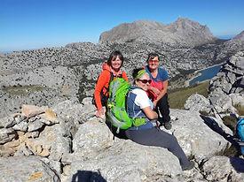 Die 3000er Gipfelroute - Sa Rateta, Na Franquesa und l´Ofre