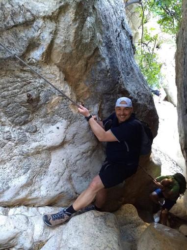 Klettern im Torrent de Pareis mit Mallorca Muntanya
