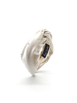 Vanilla Velvet Turban Headband