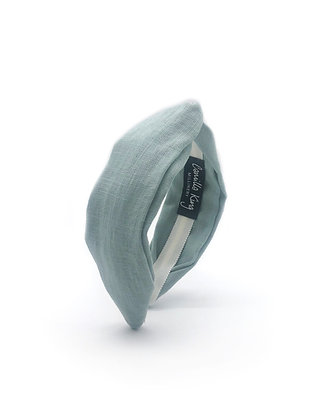 Duck Egg Blue Turban Headband