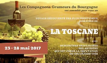 Voyage découverte vignoble Toscane