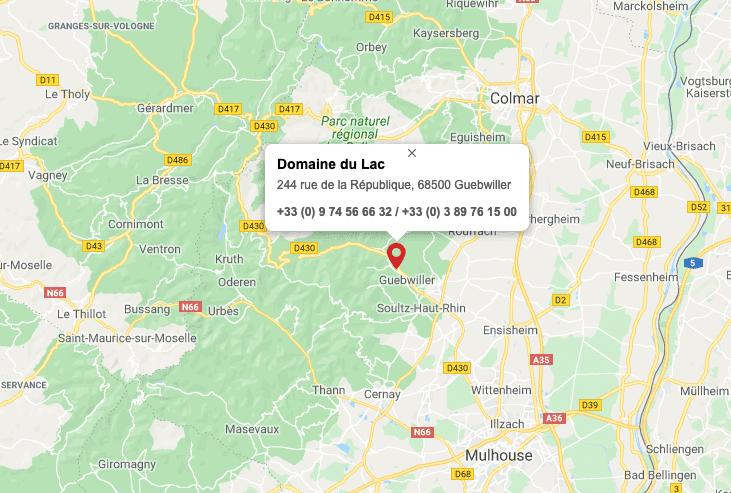 Carte Vignoble Alsace
