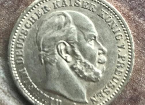 20 Mark Gold Wilhelm I von Preussen