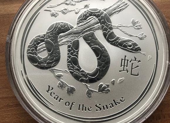 Year of the Snake Lunar II 10 Unzen 2013