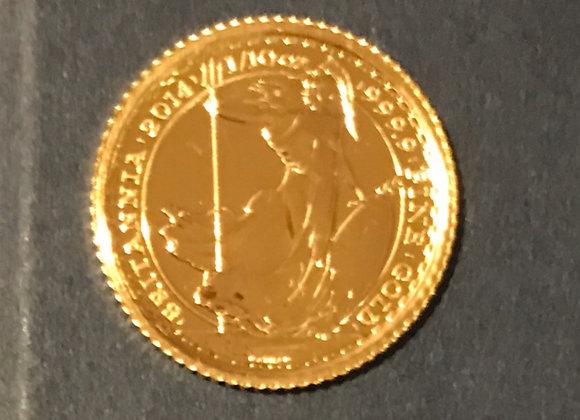1/10 Unze Gold Britannia 999.9 2014